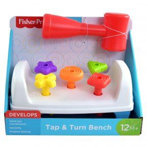 Fisher Price DP Tap & Torn Bench