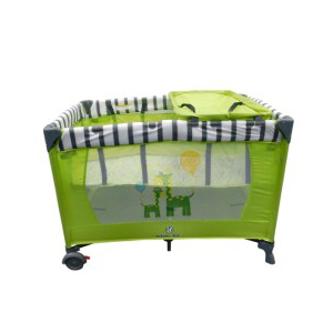 Playpen: Jungle Giraffe (Green/White/Grey)