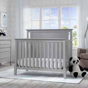 Early-Century Modern Lifestyle 4-in-1 Crib