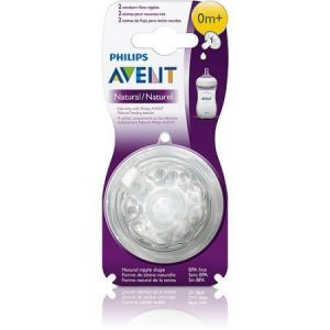 Philips Avent Natural Teat  0m+