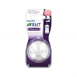 Philips Avent Natural Teat 3m+