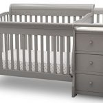 Starkcraft Portofino 4-in-1 Fixed Side Convertible Crib and Changer,  Easily Converts to Toddler Bed Day Bed or Full Bed, Three Position Adjustable Height Mattress