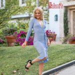 Long Sleeve Glittery Dress