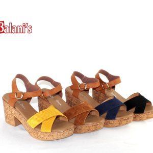 Sandal Wedge Clog W/Strap