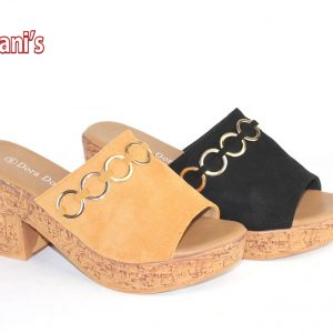 Slip on Women Clogs W/Chain