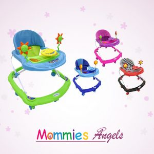 3 level Seat Flower Baby Walker W/Sound
