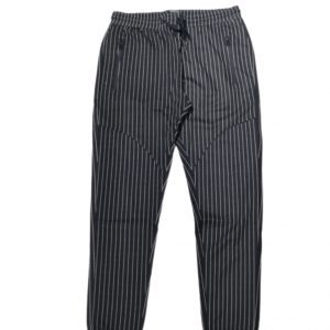 White Striped Men Jogger