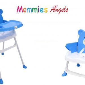 2-in-1 Teddy Bear HighChair