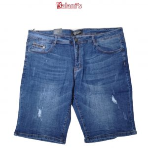 Slim Fit Men Cut-up Shorts