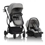 Evenflo Pivot Xpand, Single-to-Double Convertible Baby Stroller with Compact Folding design and Carrier with Base