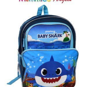 Baby Shark 16″ 2 Pocket Backpack