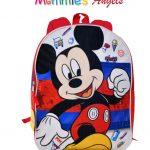 Mickey 15″ Backpack with Plain Front