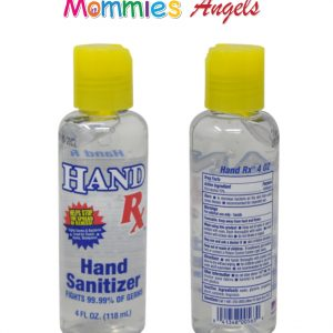 Hand Sanitizer Gel 4oz 70% Alcohol