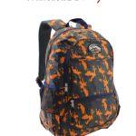 Air Express Camo School Bag