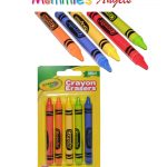 Crayola Crayon Shaped Erasers 5pk on Card