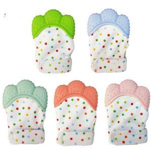 Silicone Glove Teether Baby Mitten