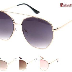 Brow Bar Golden Frame Sunglasses