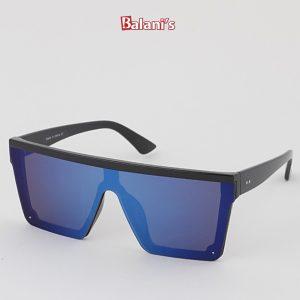 Reversed Frame Shield Sunglasses