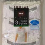 Value Pack 3 T-Shirts V-Neck