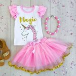 Unicorn Top + Skirt