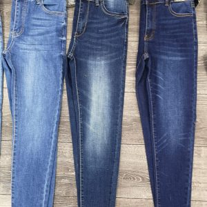 Skinny Curvy Med Rise Jeans The DEB