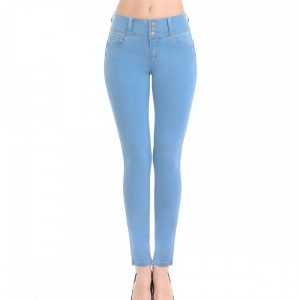 PUSH-UP SUPER COMFY 3 BUTTON SKINNY