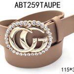 GG DIAMOND METAL BUCKLE BELT