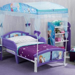 Frozen Toddler Canopy Bed