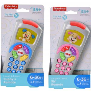 Fisher-Price DP Laugh & Learn Puppy & Sis' Remote