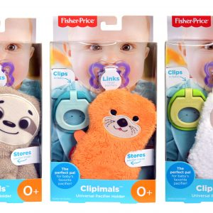 Fisher Price DP Clipimals Universal Pacifier Holders