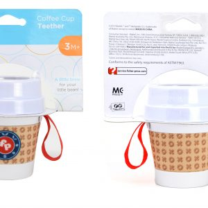 Fisher Price DDC Coffee Cup Teether