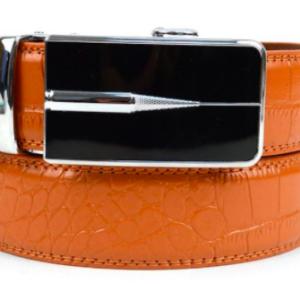 Men's Leather Buckle Ratchet Belt