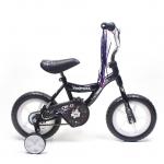 Chromewheels Road Star 12″ BMX Kids Bike EVA Wheels – Black