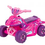 Kid Motorz 6V Kiddie Quad Battery-Powered Ride-On, Pink