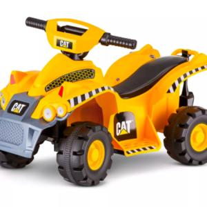 Kid Trax CAT 6V Quad Powered Ride-On – Yellow