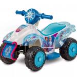 Frozen 2 6V Sing-Along Quad Powered Ride-On – White