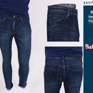 Estivaneli Dark Denim Basic Skinny Jeans