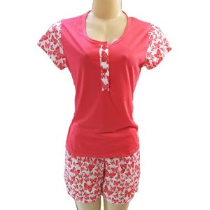 2 PC Set Butterfly Short Pyjamas