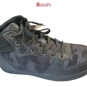 Black Camouflage Sneakers