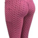 Scrunch Popcorn High Waist Brazilian Textured Fashion Gym Legging