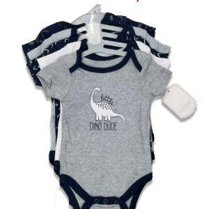 Kyle & Deena Baby Boys 5pk Bodysuits