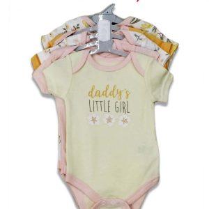 KYLE & DEENA BABY GIRLS 5PK BODYSUITS
