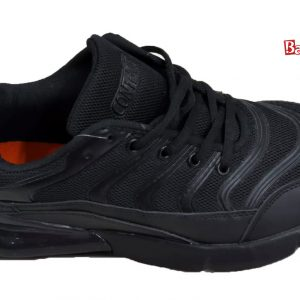 Contact Black Air W/Lines Sneaker
