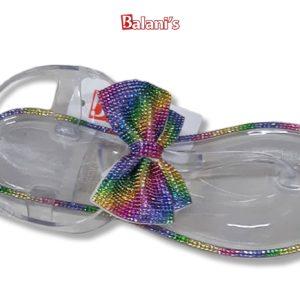 Clear Rainbow Sandal