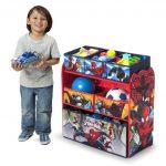 Spider-Man Multi-Bin Toy Organizer