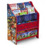 PAW Patrol Book and Toy Organizer