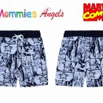 Marvel Comics Captain America Boys Shorts