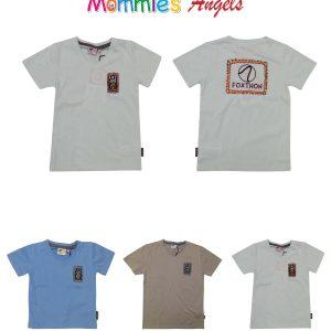 Foxthon Boys V-Neck T-Shirt