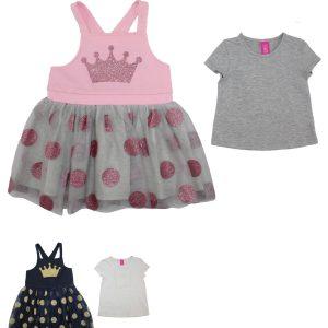 Crown 2pc Set Dress + Top