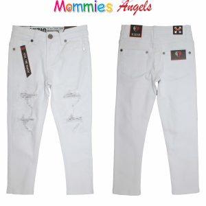 Boys White Denim Vizio Jeans 2-8